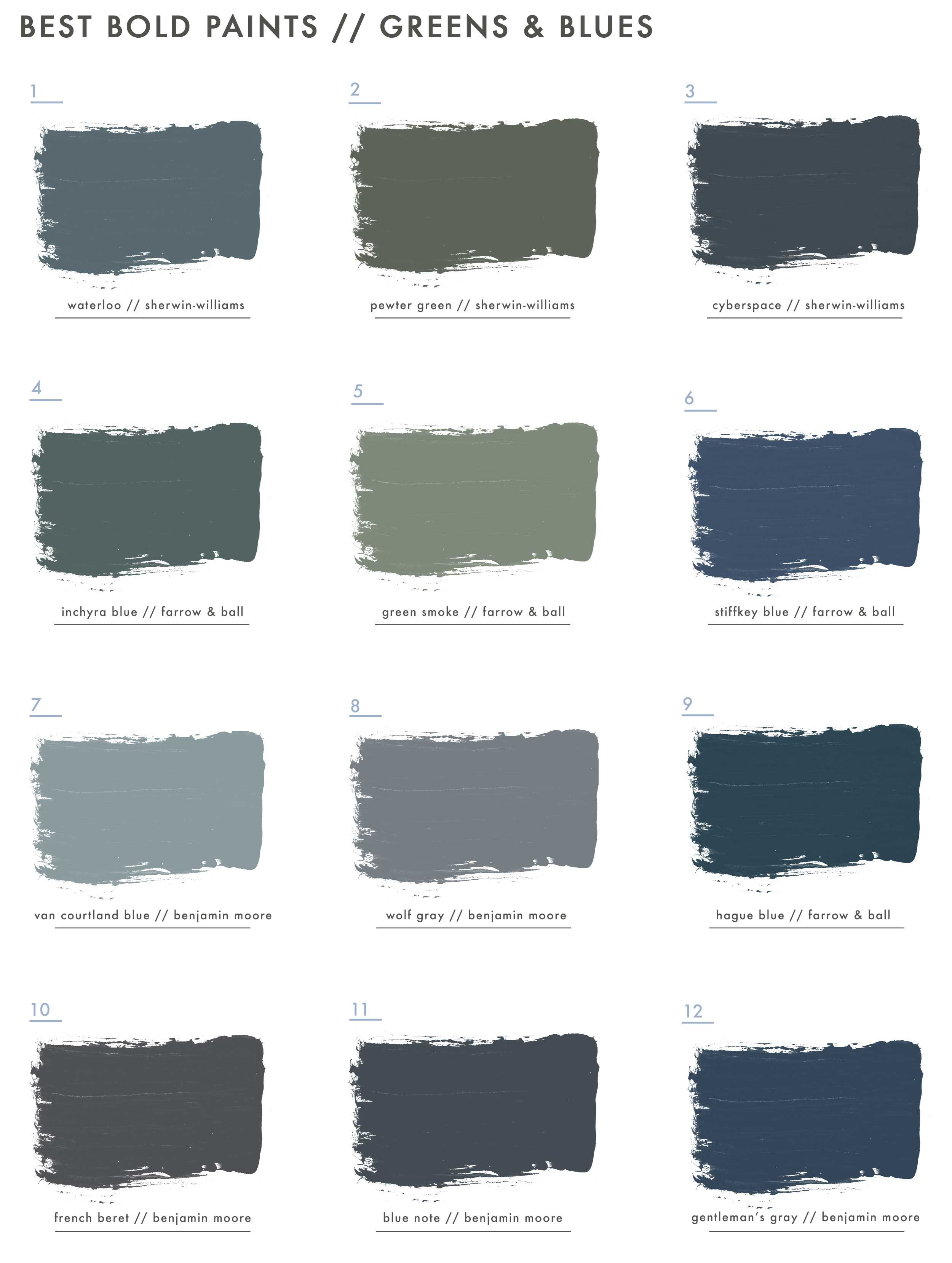 Pin By Emily Henderson On My Stuff Blue Green Paints Green Paint Colors Green Paint