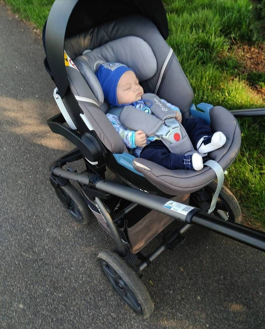 Cybex Stroller Support With The Help Of An Adapter Cybex Aton 5 Car Seat Can Be