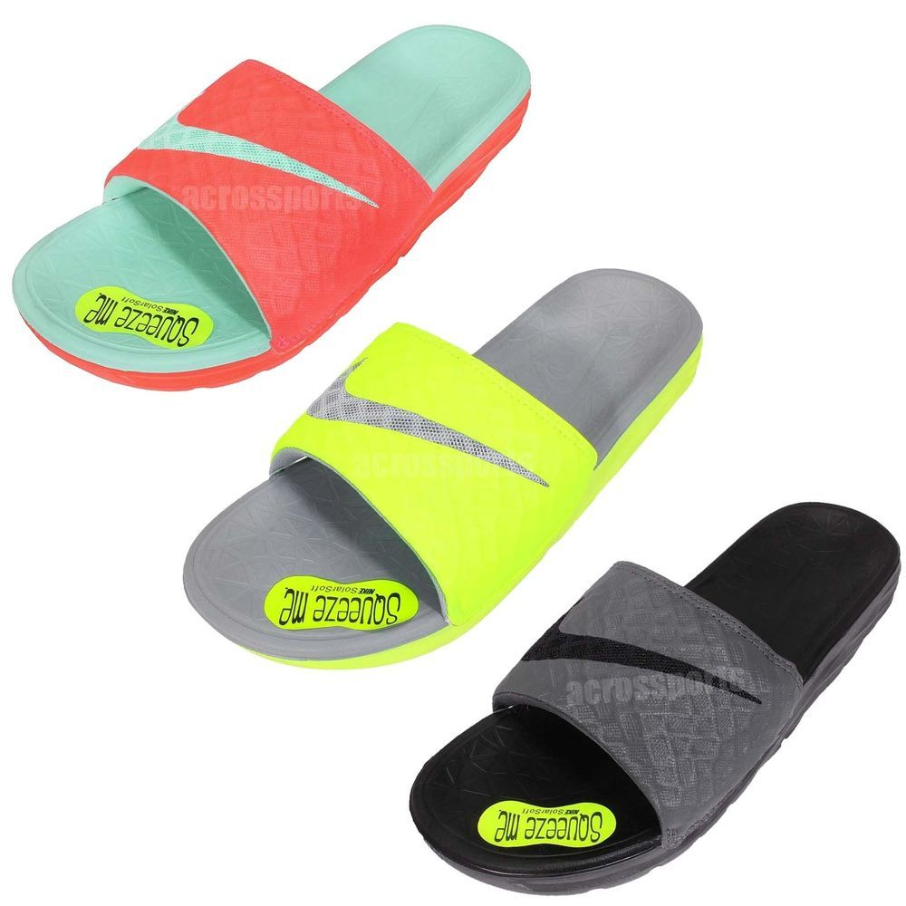 9a55d9695 Nike Benassi Solarsoft Slide 2 Mens Sports Slippers Squeeze Me Sandal Pick  1 http