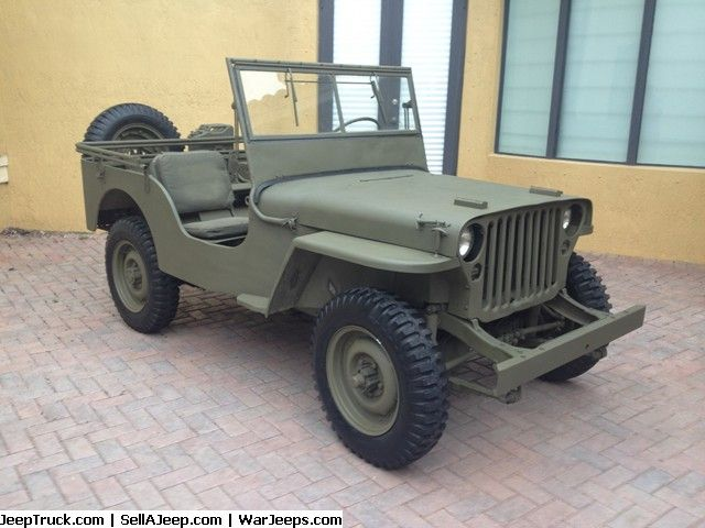 Pin On Military Jeeps For Sale