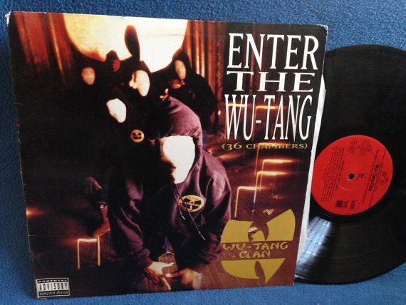 Sealed Vintage Wu Tang Clan Enter The 36 Etsy Vinyl Sales Wu Tang Clan Wu Tang