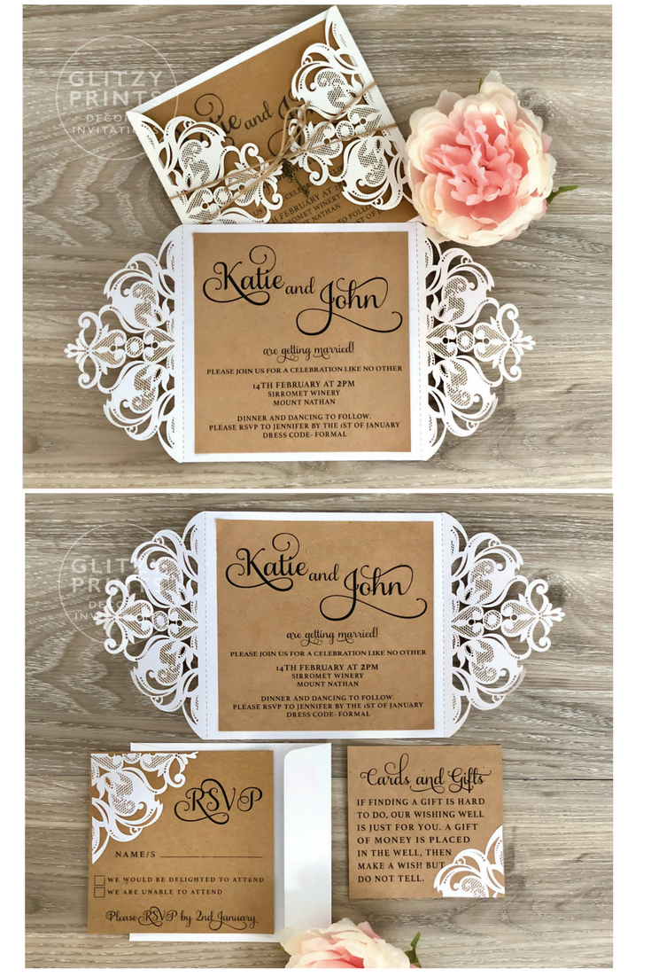 Rustic wedding invitation lasercut invitation boho invitation key rustic wedding invitation lasercut invitation boho invitation key invitation kraft invitations key invitation engagement christening stopboris Choice Image