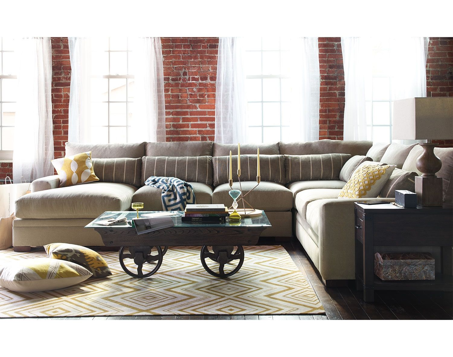 Living Room Design With Sectional Sofa Inspiration My Favorite But It Cost $2999 The Ventura Collection Review
