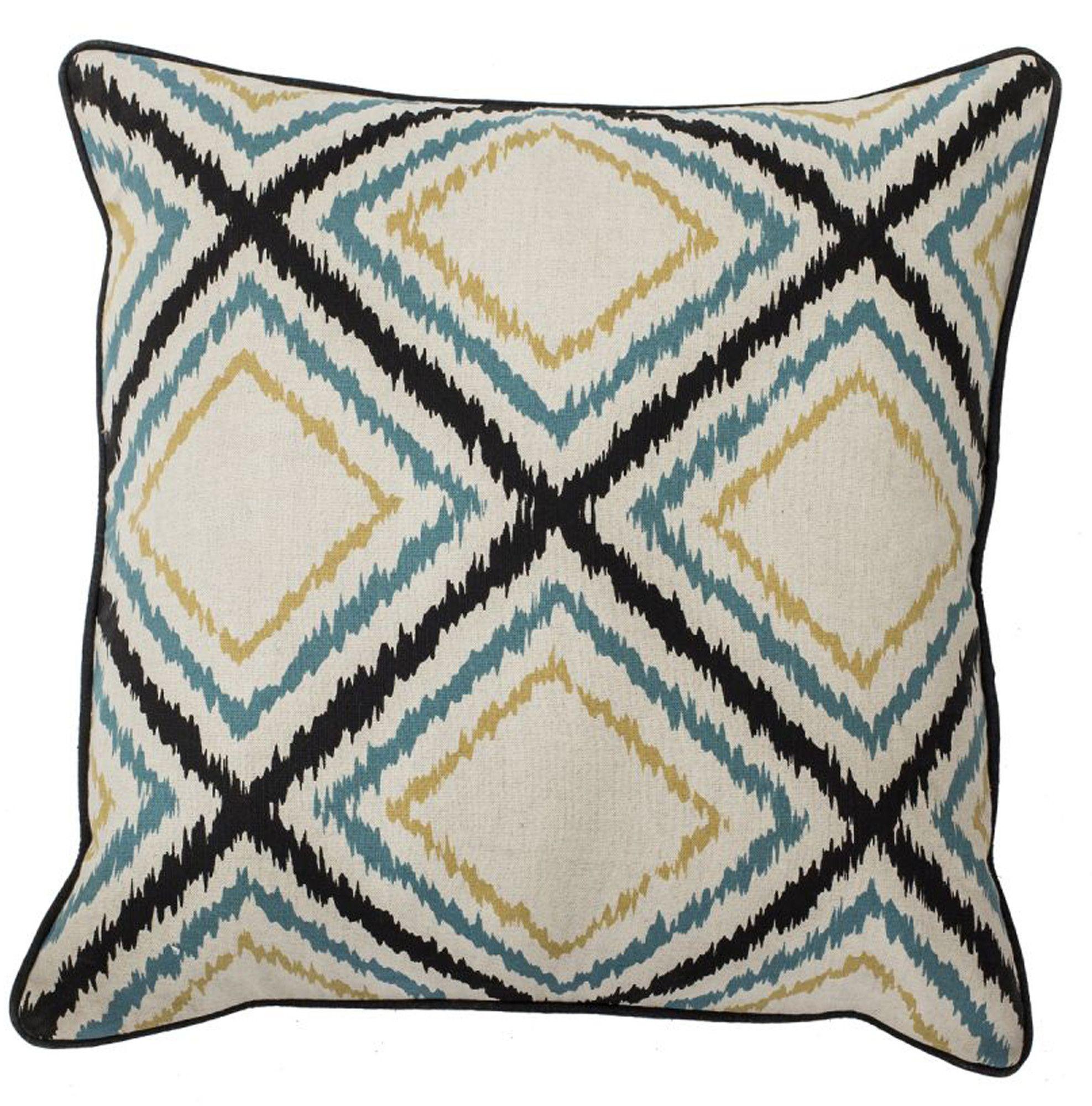 Blue The Pillow Collection Eleri Geometric Pillow