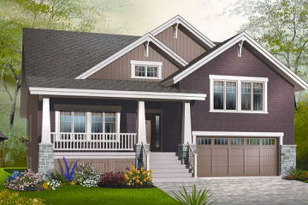 Bungalow craftsman country farmhouse traditional Traditional bungalow house plans