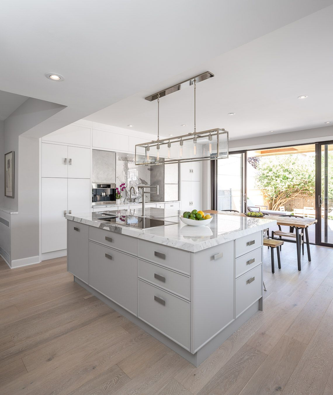 Kitchen And Bath Ideas: Featuring Our Visual Comfort & Co. Light Fixture. A White