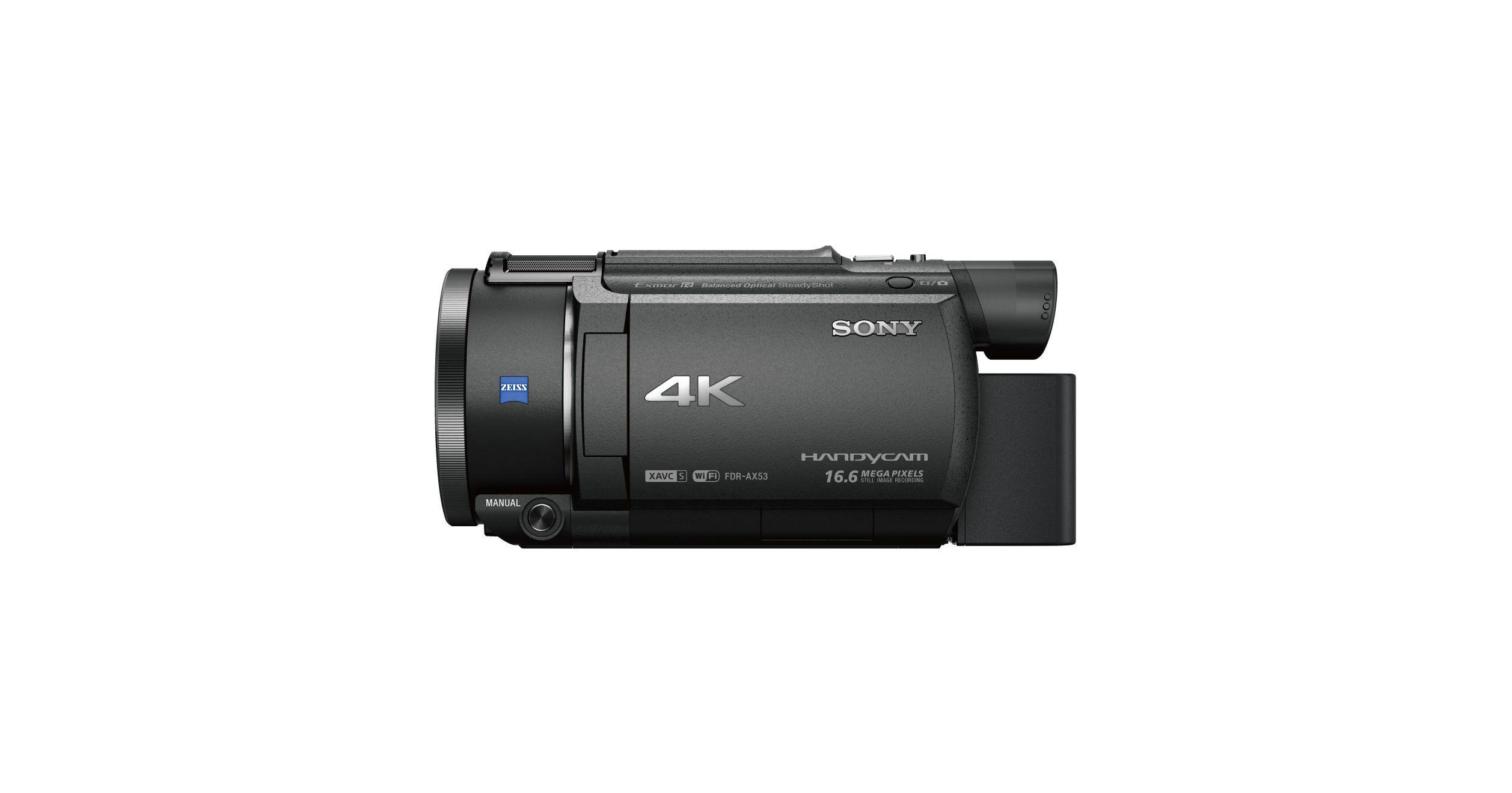 Sony 4K Handycam AX53 (de ultieme vlogcamera)