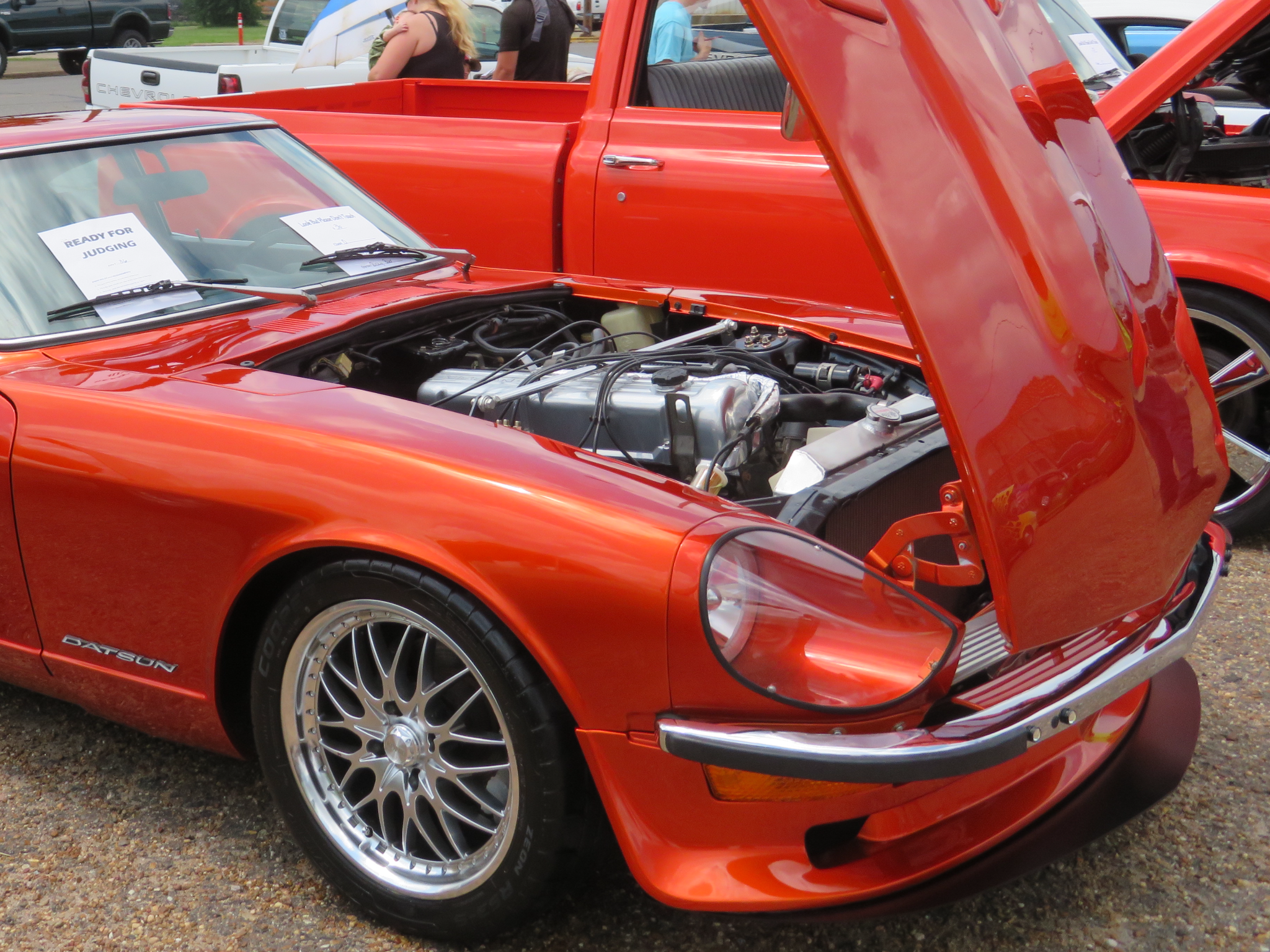 1973 Datsun 240Z, L28 with carbs and a Custom Air Breather