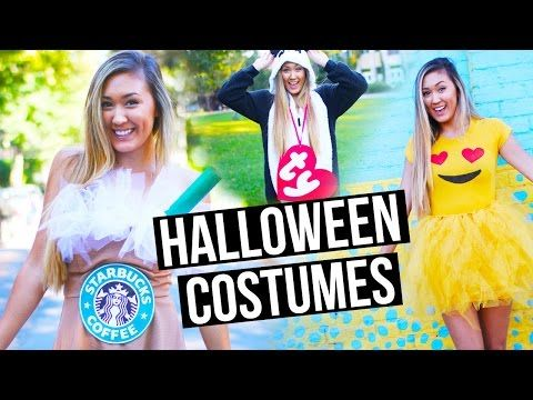 diy halloween costumes for teens starbucks frappuccino emoji ty beanie baby