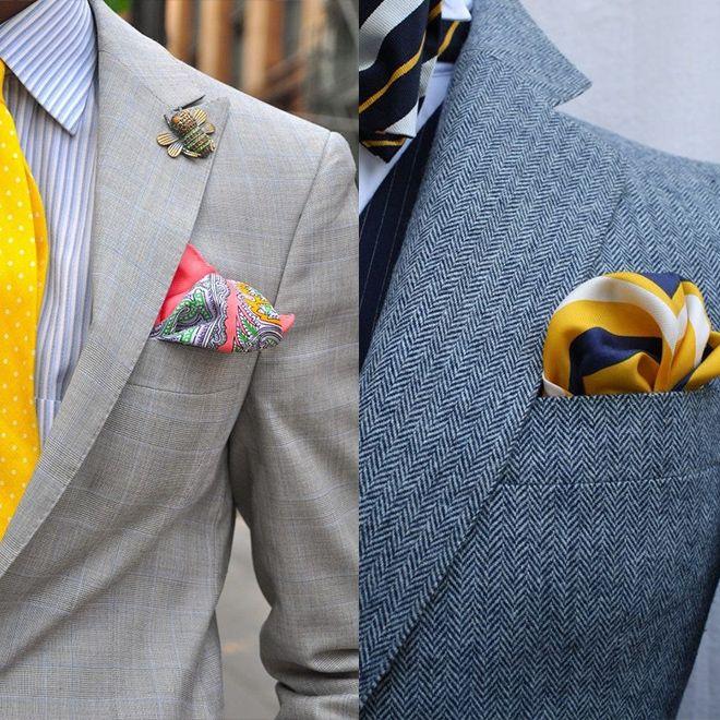 Zegist Men Pocket Square Style Inspiration01