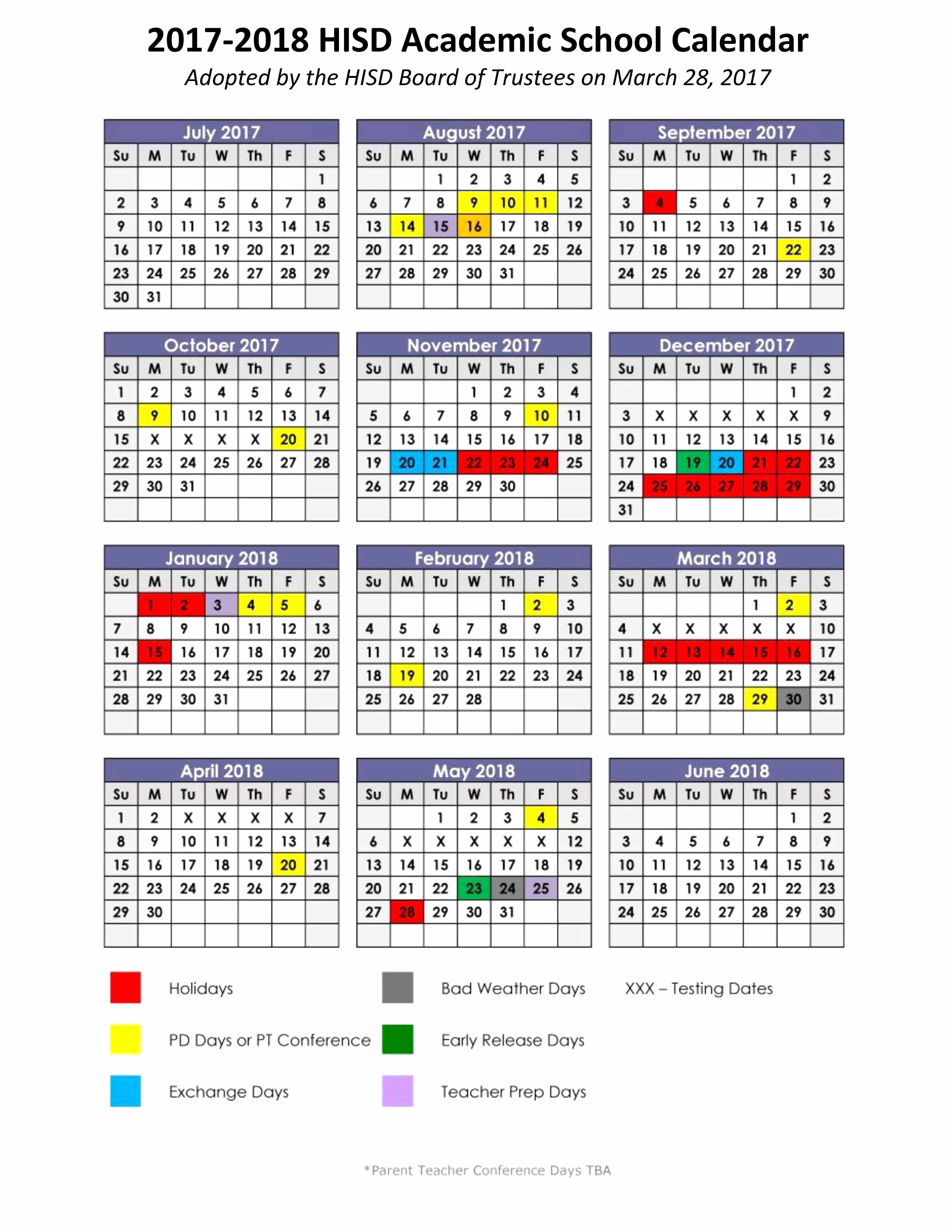 Luxury 50 Sample Heb Isd Calendar 2020 2020 Calendar Calendar