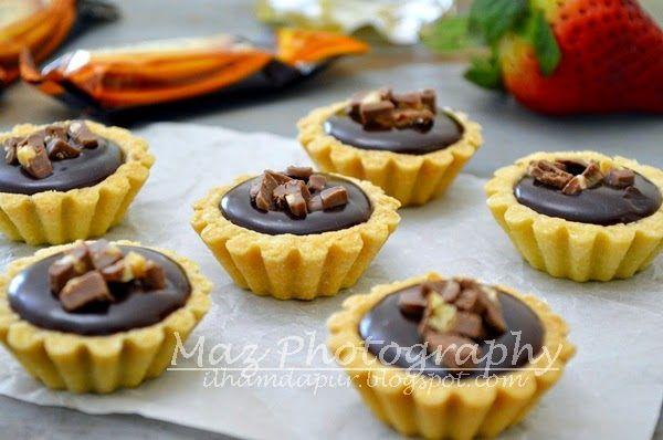 Nutella Tart Mini Tart Recipes Cookie Recipes Tart Recipes