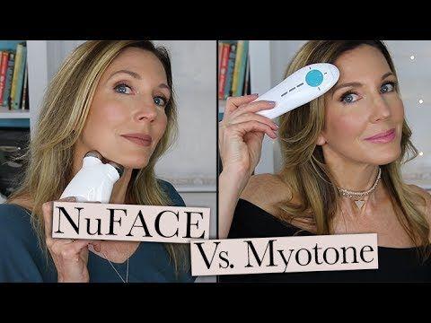 Nuface Vs Myotone Microcurrent At Home Facial Toning