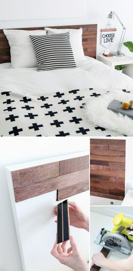 diy heardboard bedroom m bel schlafzimmer ikea m bel. Black Bedroom Furniture Sets. Home Design Ideas