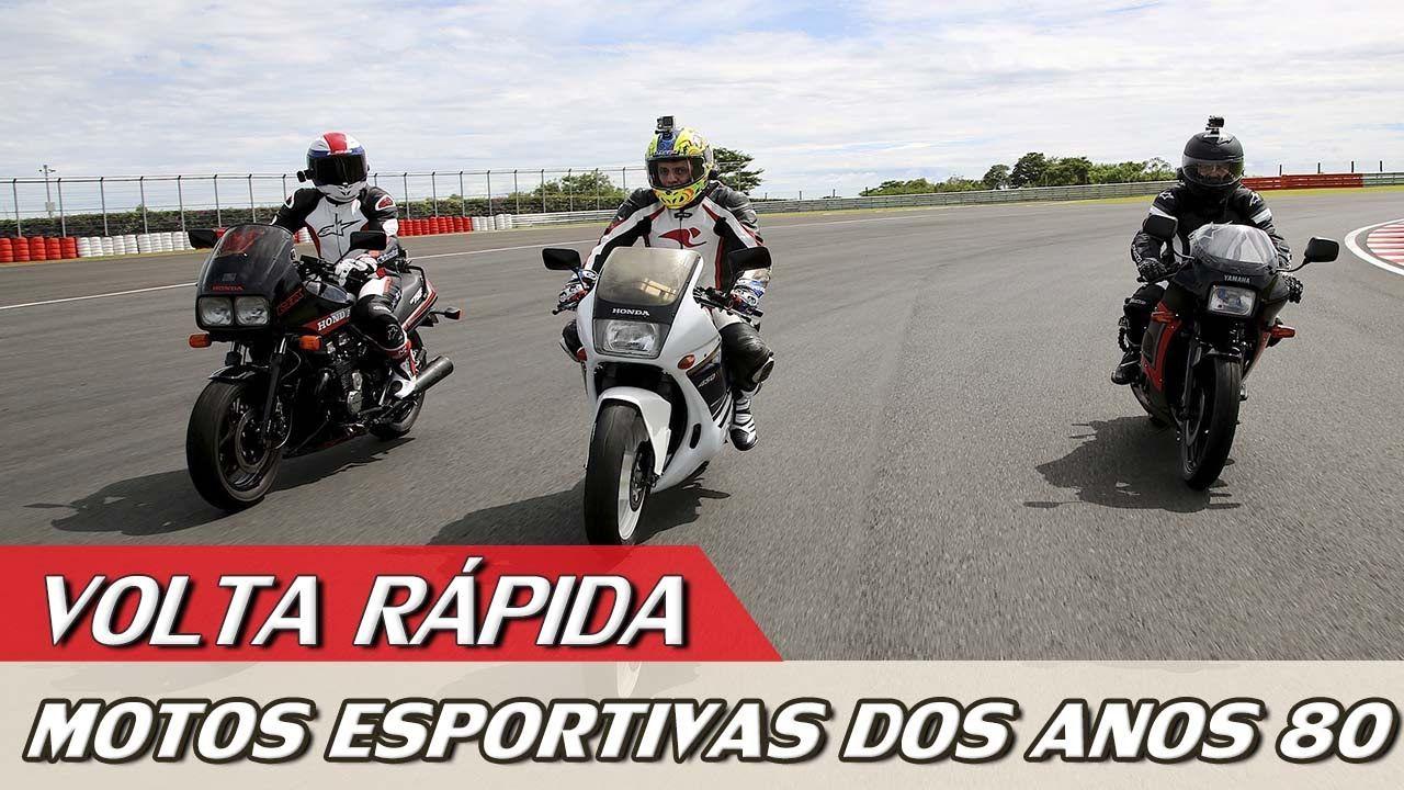 YAMAHA RD350 VS HONDA CBX750 VS CBR450 - VOLTA RÁPIDA COM ALEX BARROS #6...
