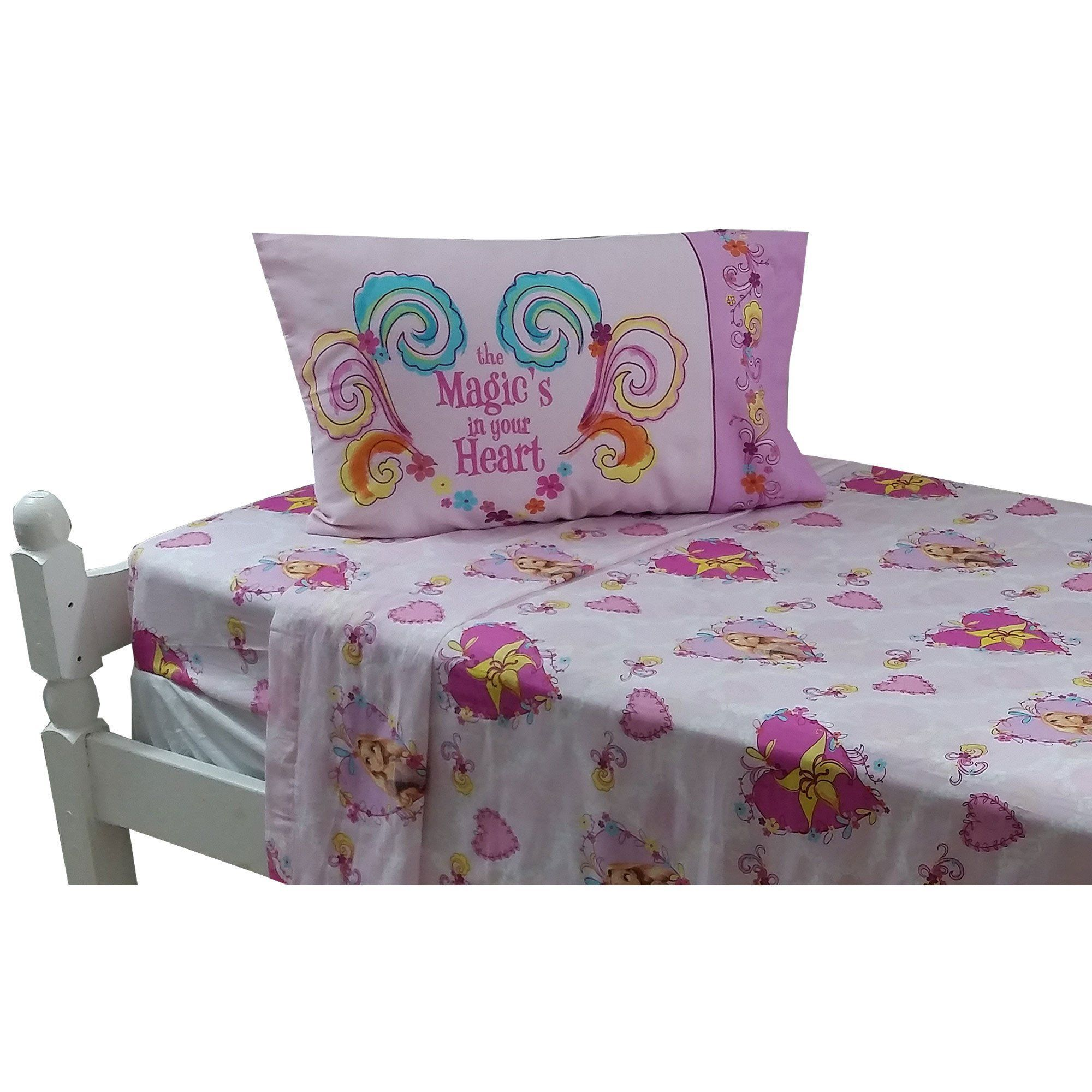 Disney Tangled Twin Bed Sheet Set Magic Heart Bedding #BedSheets | Bed  Sheets | Pinterest | Twin Bed Sheets, Twin Beds And Bed Linen.