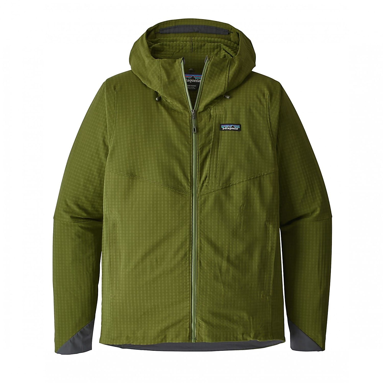 Patagonia M R1 TECHFACE HOODY, Sprouted Green