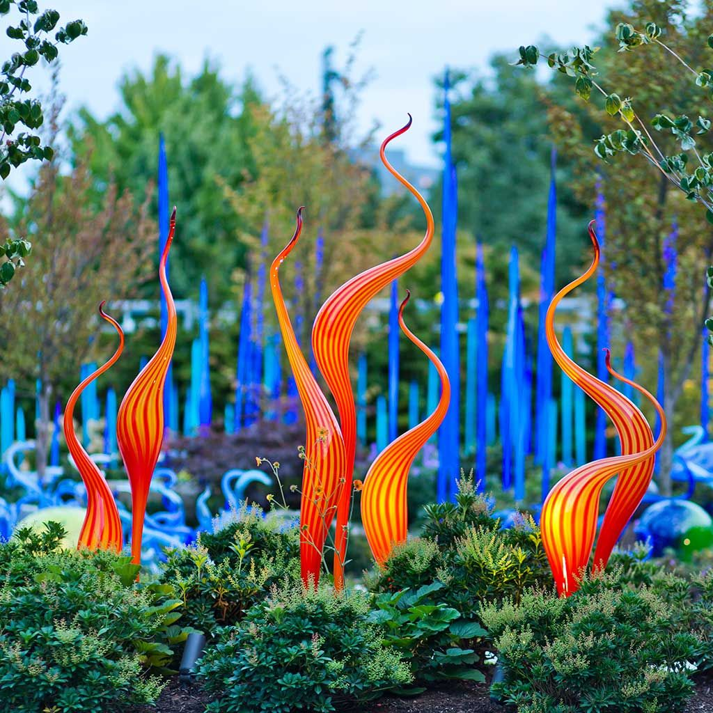 Led Garden Blown Glass - Google Search