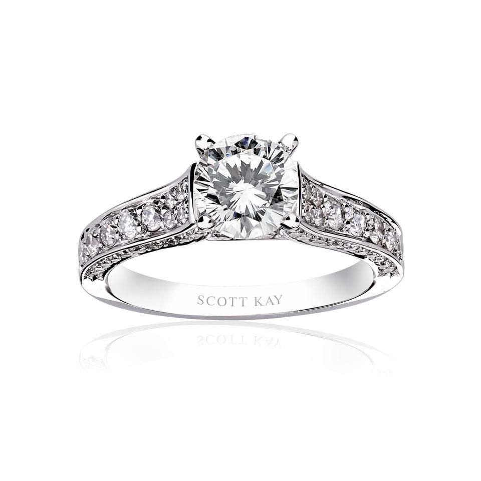2 K White Gold Engagement Rings From Kay Jewelers 3 Kays Engagement Ring Engagement Rings Engagement Rings For Men