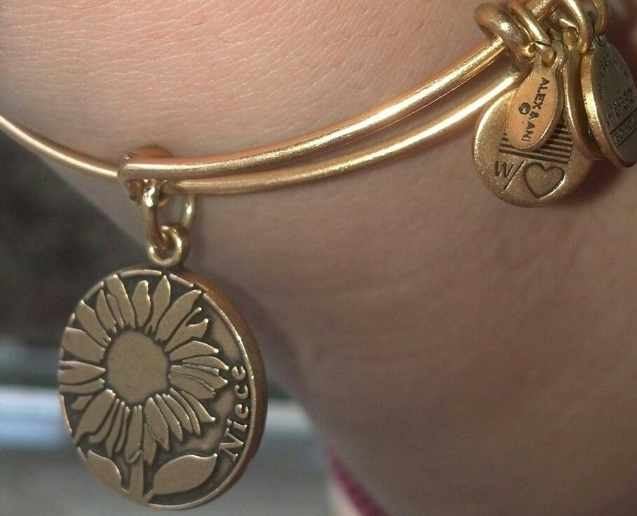 Alex And Ani Niece Bracelet Given By My Aunt Uncle For Birthday In 2017