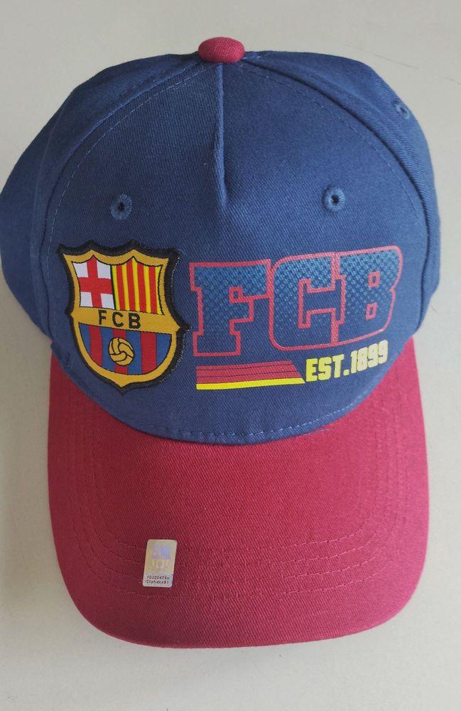 42fccd83f43 FCBarcelona Soccer Rhinox Adjustable Hat Cap Blue Red  rhinox  FCBarcelona