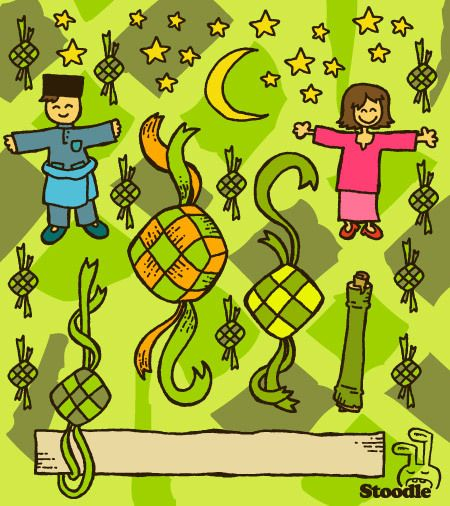 Free D I Y Kad Raya From Stoodle Cards Iphone Wallpaper Clip Art