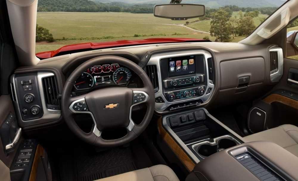 2018 Chevrolet Silverado 1500 Release Date Price Interior