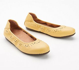 Cute, comfy, and flat out fun -- these perforated slip-ons work hard to support each step with softness. From Vionic®.