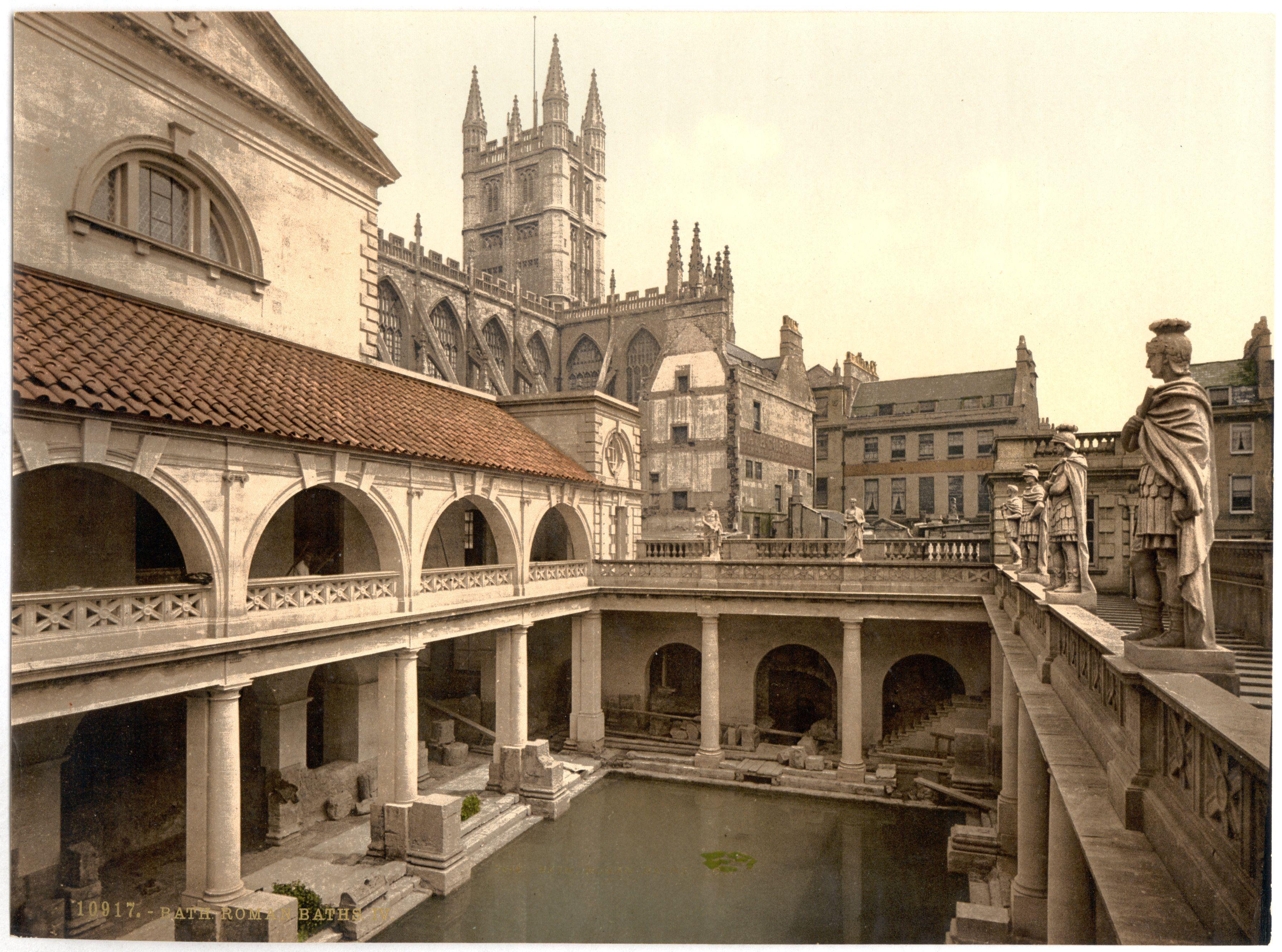bath- king's and queen's baths | el mundo victoriano | pinterest