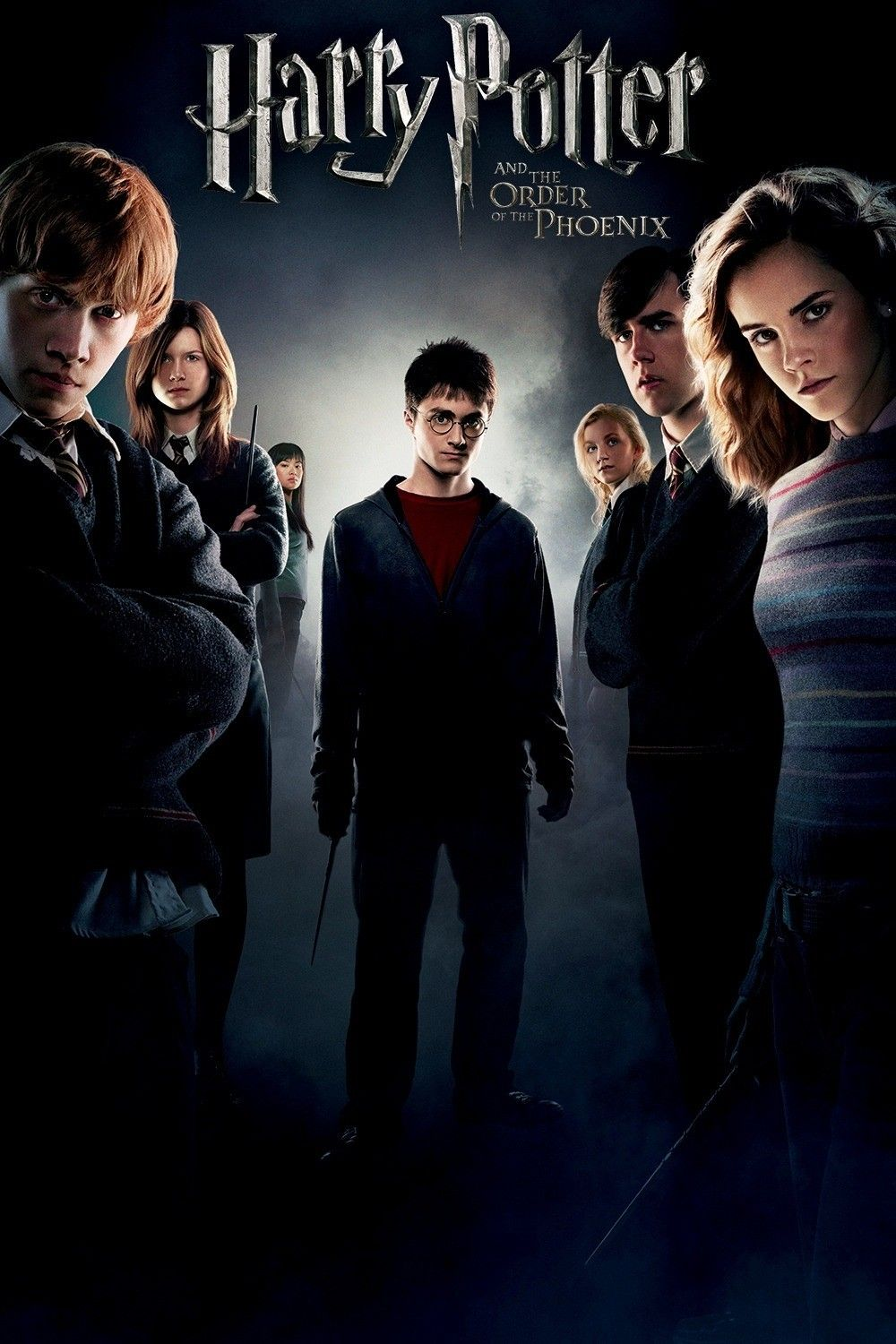Harry Potter And The Order Of The Phoenix 2007 Harry Potter 5 Harry Potter Movie Posters Harry Potter Movies