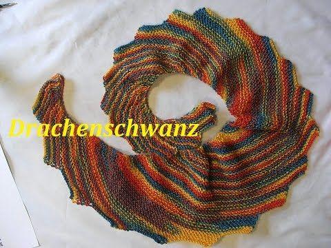 Stricken - Drachenschal PADUA Patentmuster - Woolly Hugs BANDY 06 ...