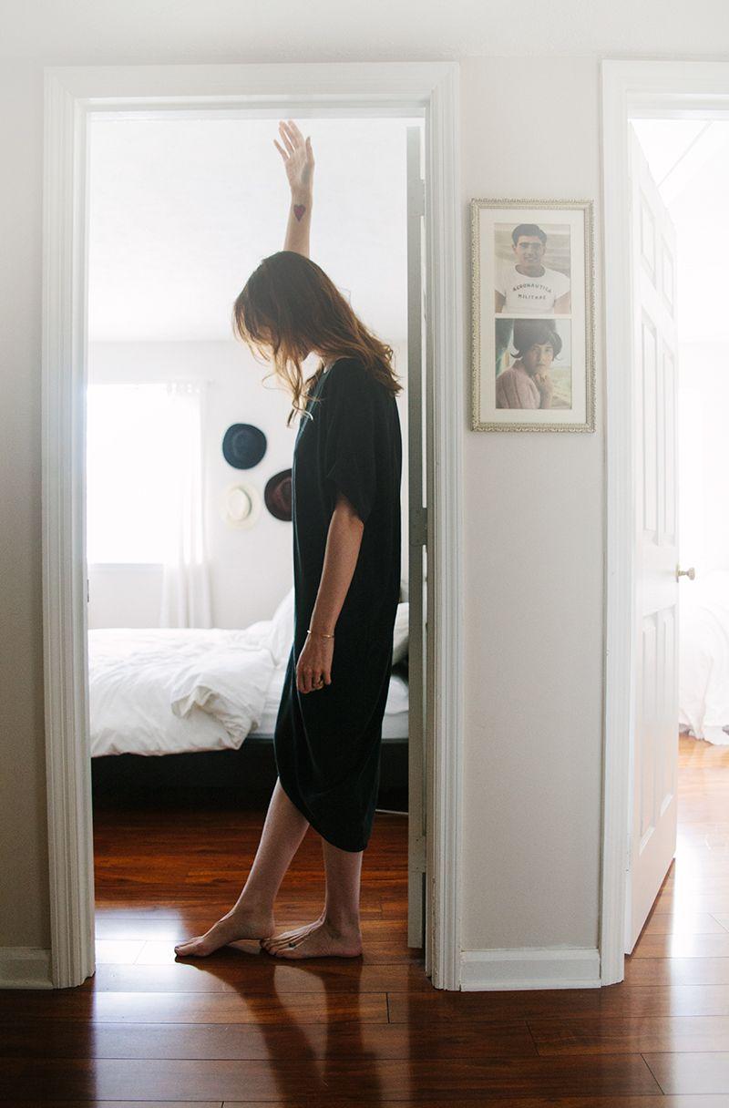 From bleubirdblog.com. Love the simplicity in her house...  #whitewalls #interiordesign #home