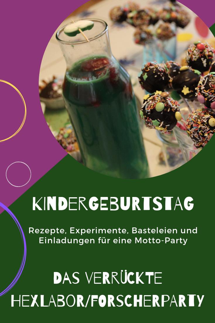 Photo of Kindergeburtstagsmotto Das verrückte Hexenlabor