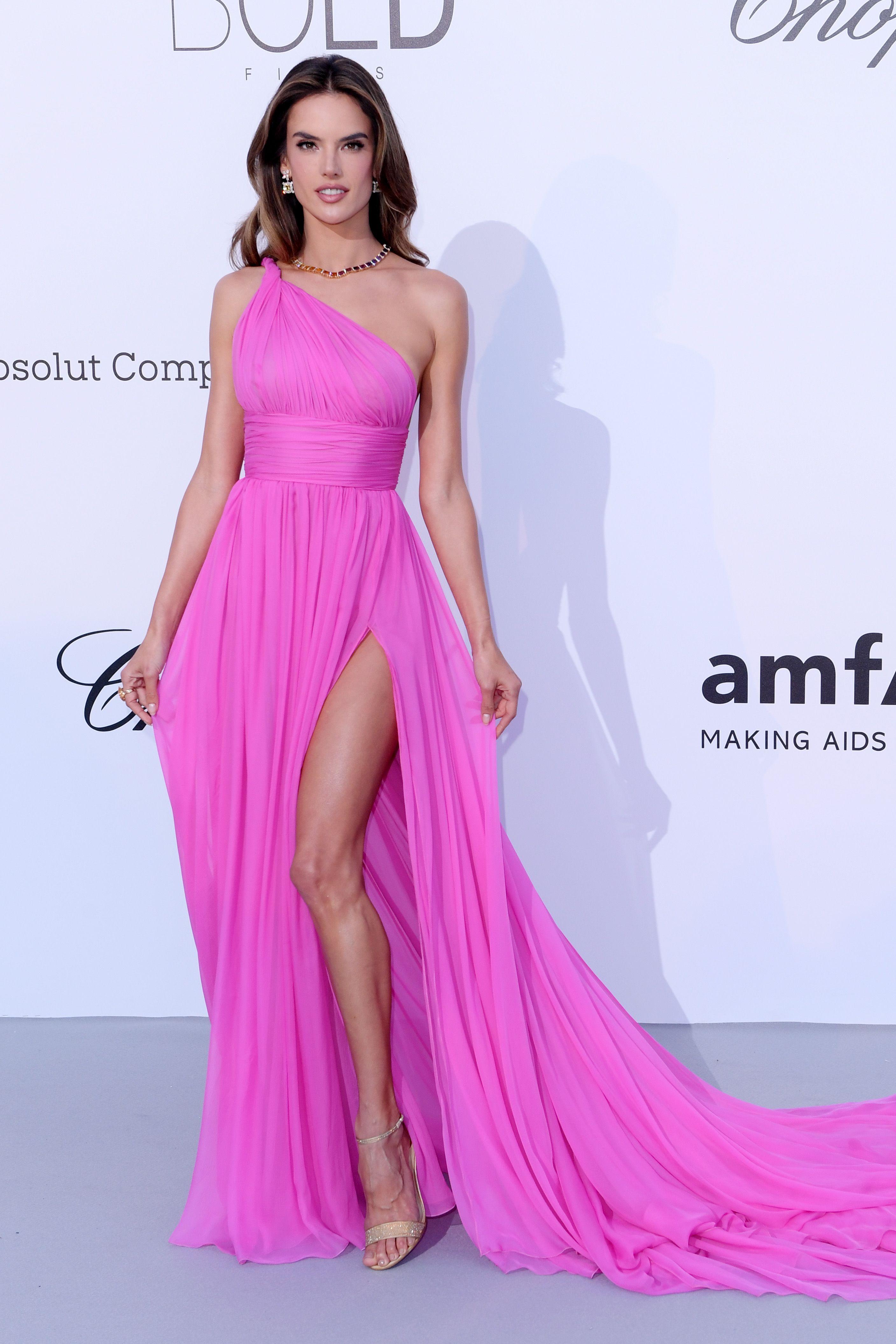 Alessandra Ambrosio at the 25th amfAR Gala Cannes 2018 ...