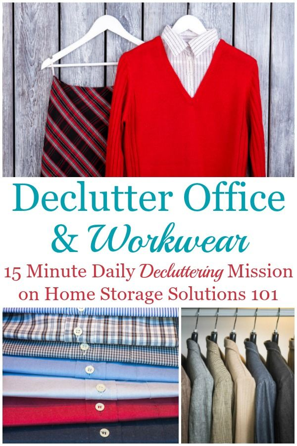 How To Declutter Your Wardrobe Of Workwear Clutter, Such As Suits, Uniforms & Office Clothes -   18 DIY Clothes Storage life changing ideas