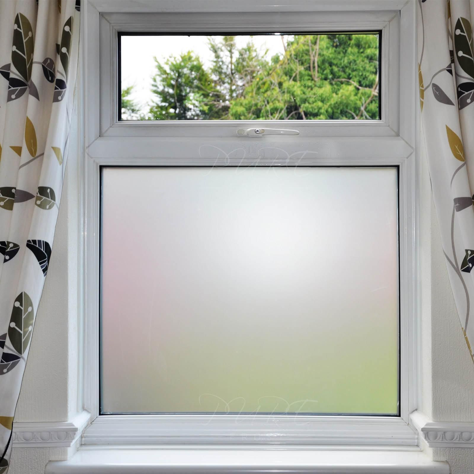 Bathroom Frosted Window Film With Images Frosted Window Film