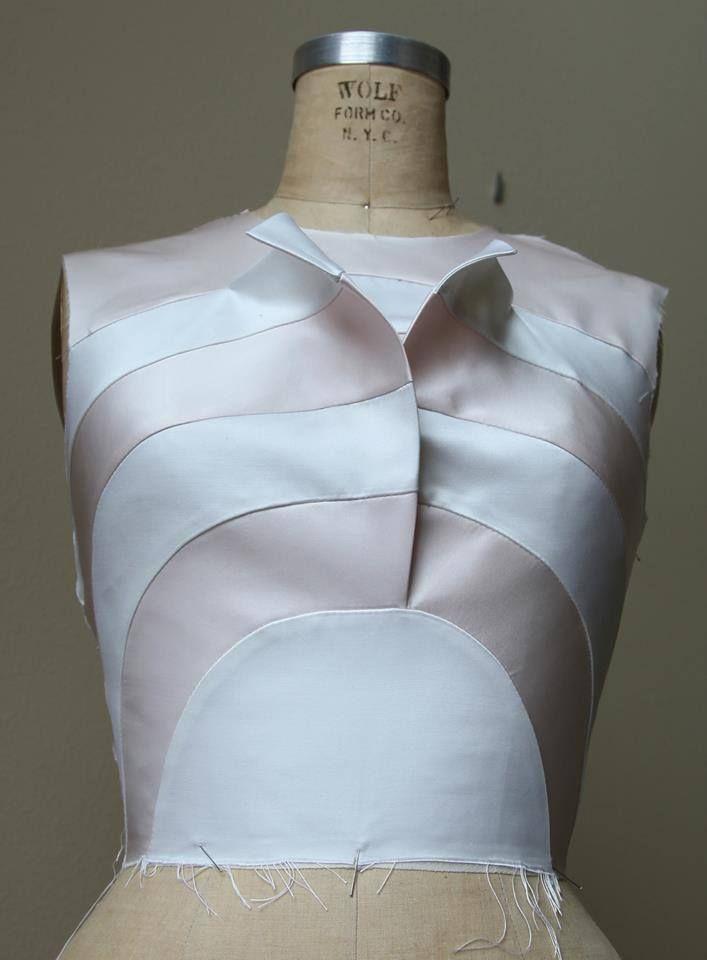 Trompe l\'oeil basic by Online Class | dress | Pinterest | Nähmuster ...
