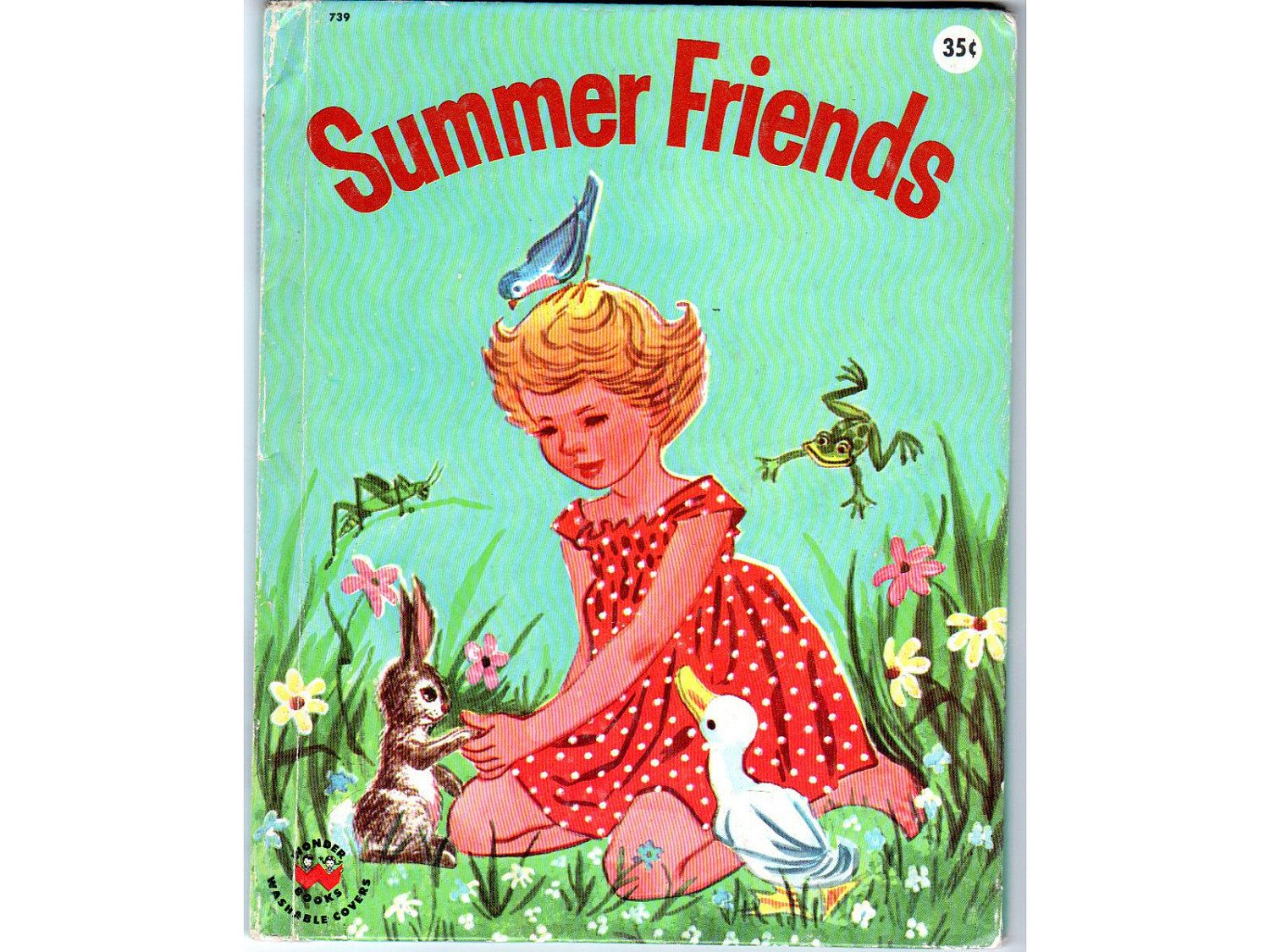 'Summer Friends' By Jeanette Krinsky, pictures by Ruth Wood. Published in 1960.