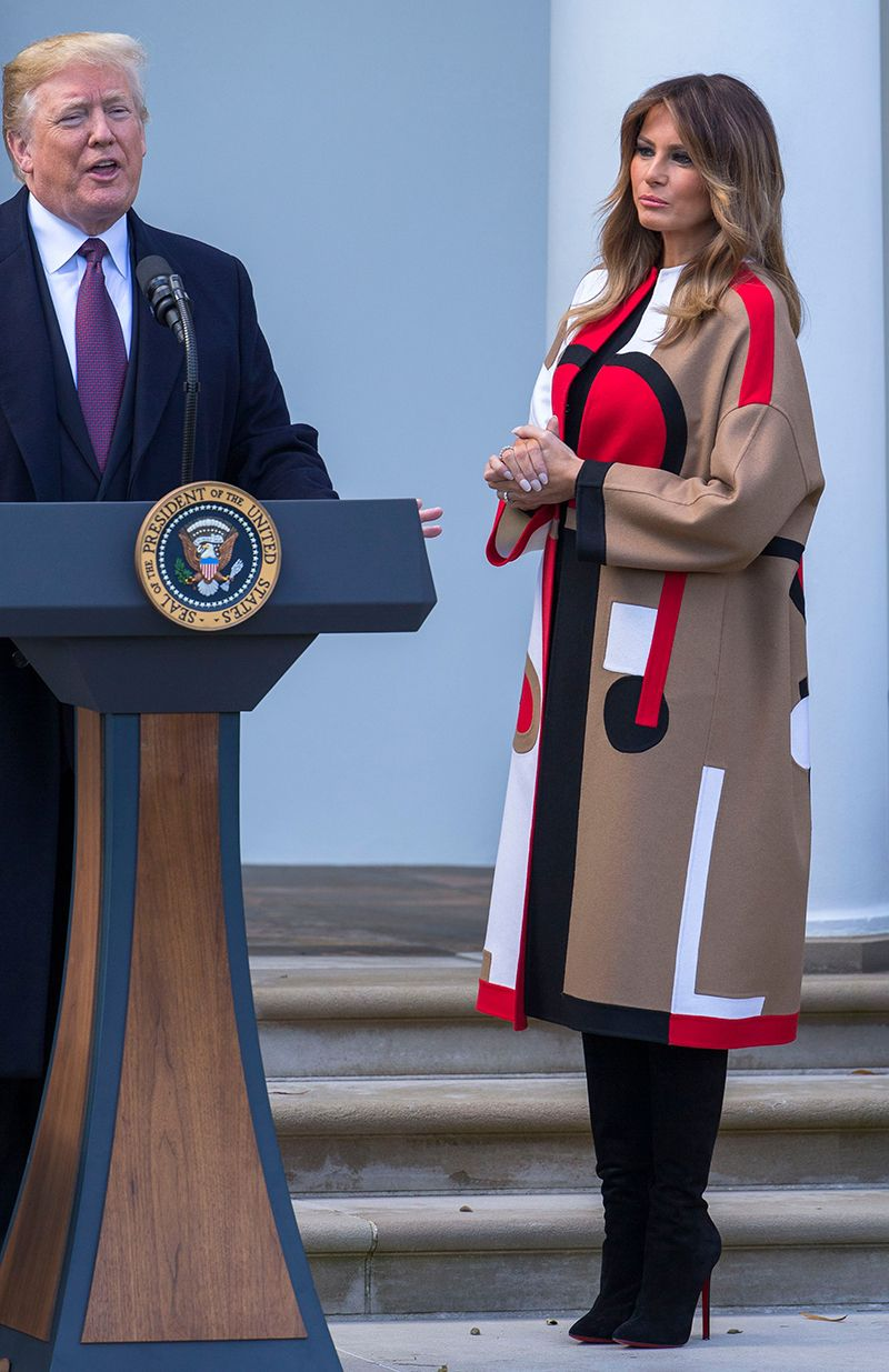 Melania Trump's Style — Best Outfits Cool outfits, First
