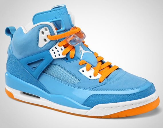 buy online a5885 28b2c Jordan Spiz ike Style  315371-415 Color  University Blue White-Italy Blue-Vivid  Orange