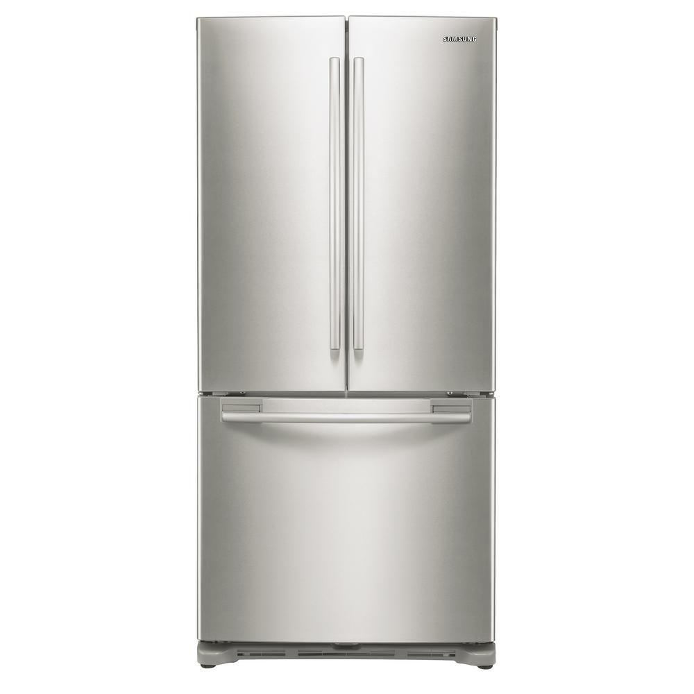 Samsung 33 in. W 17.5 cu. ft. French Door Refrigerator in