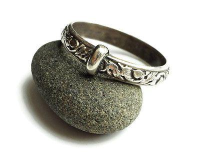 Outlander Wedding Ring Sporran Key Thistle Leaf Blacksmith