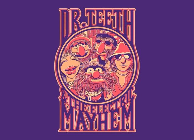 """Electric Mayhem"" - Threadless.com - Best t-shirts in the world"