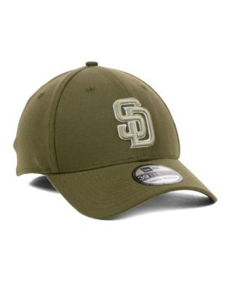 sports shoes 0dcb7 66f08 New Era San Diego Padres Mlb Team Classic 39THIRTY Stretch-Fitted Cap -  Brown M L