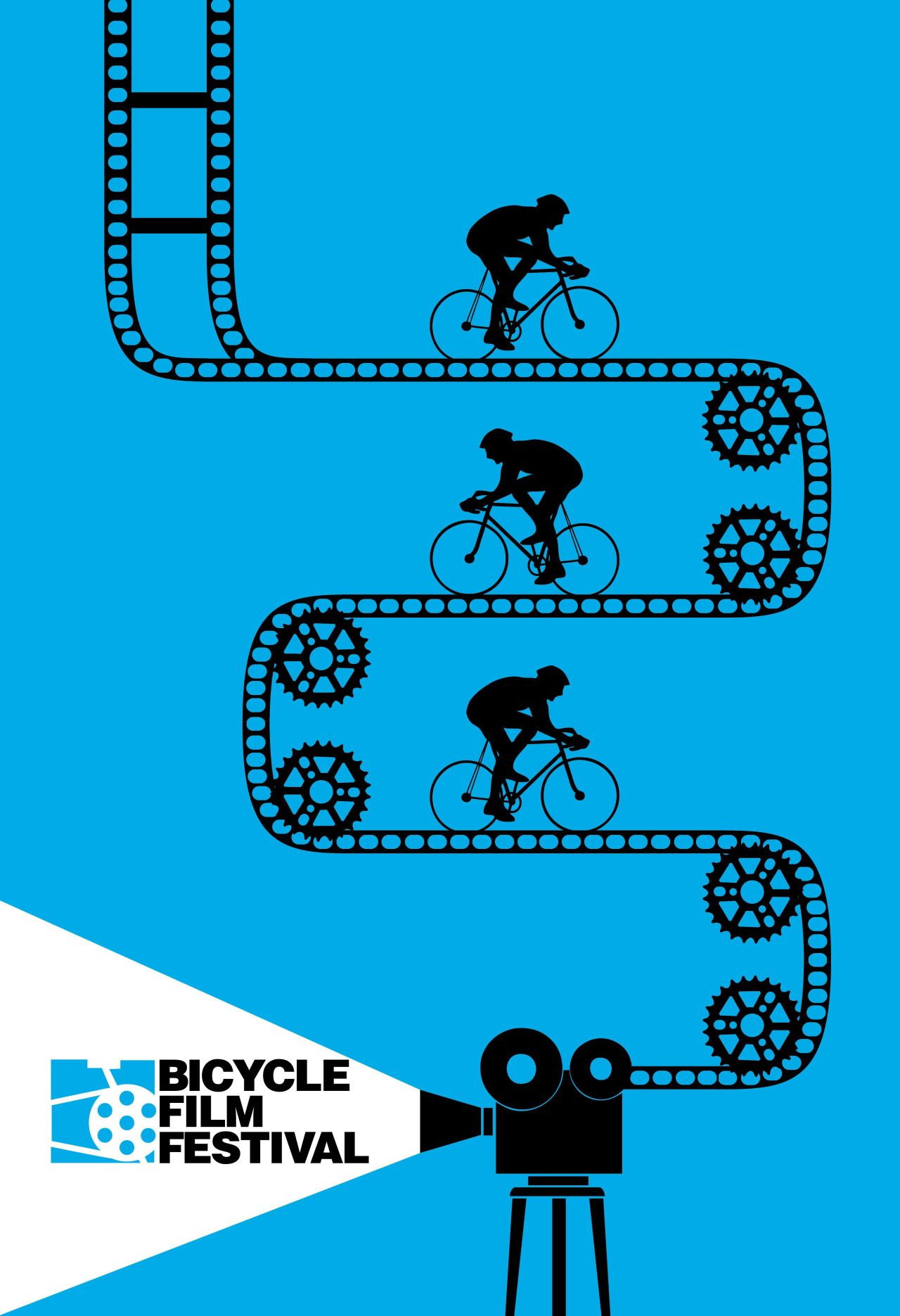 juergvollmer: Velo Illustration 031: Bicycle Film Festival ...