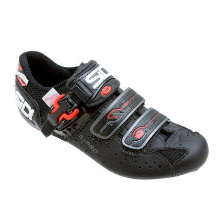 Cool Sidi Genius 5 Pro Carbon Womens Road Bike Shoe Black 43