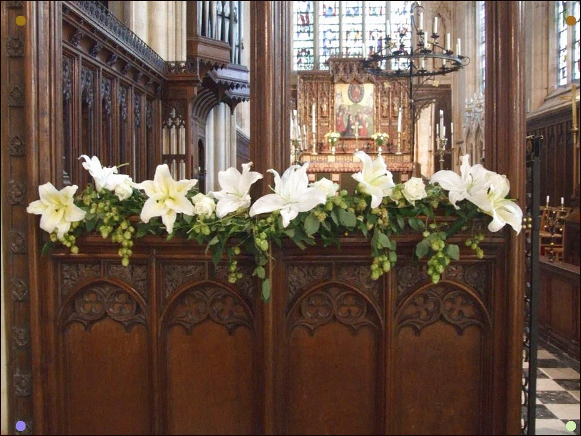 Rood Screen Flowers in 2020 (With images) Lily, Screen