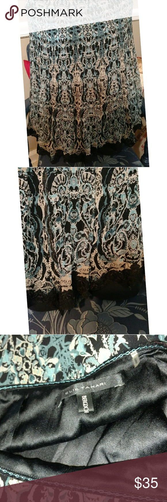 Vintage Elie Tahari Skirt