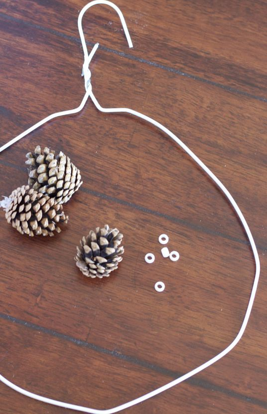 DIY: Pinecone Wreath (Practically FREE)