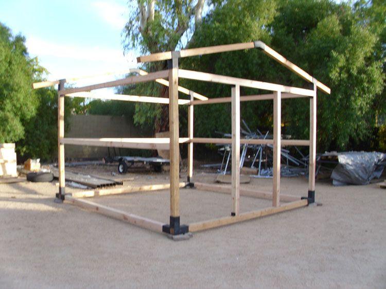 Building Kits Shed Frame Steel Sheds